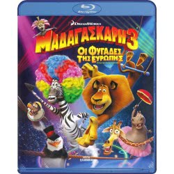 Tanweer BLU-RAY Madagascar 3: Europe Most Wanted 001583 5201802076353