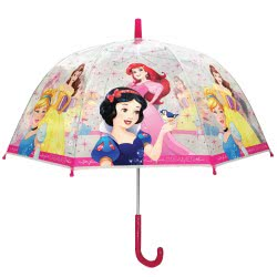 chanos Kids Umprella Transparent 48Cm Disney Princess 3478 5203199034787