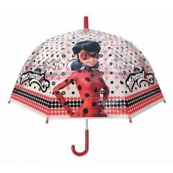 chanos Ομπρέλα Παιδική Διάφανη 48cm Miraculous Ladybug 4823 5203199048234