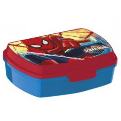 Group Operation Ultimate Spiderman Lunch Box Red - Blue 34166 8010898341668