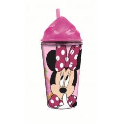 GIM Minnie Cream Cup PS Tumbler with Straw 354ml 553-33216 5204549108509