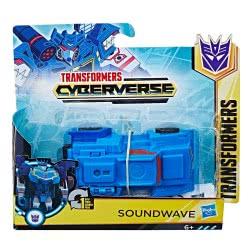 Hasbro Transformers Cyberverse 1 Step Changer Soundwave E3522 / E3524 5010993533817