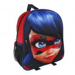 Loly Miraculous Ladybug 3D Σακίδιο Πλάτης Νηπιαγωγείου 2200001975 8427934957118