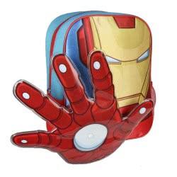 Cerda Marvel Avengers Iron Man 3D Kindergarten Backpack 2100002251 8427934189267