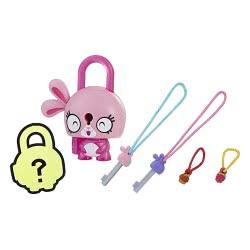 Hasbro Lock Stars Basic Σειρά 1 Μίνι Λουκετάκι Ροζ Λαγουδάκι E3103 / E3168 5010993524594