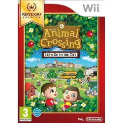 Nintendo WII Animal Crossing Let`s Go to the City (Selects) 045496400118 045496400118