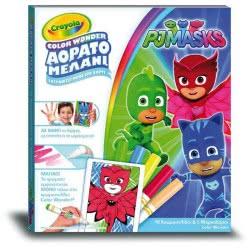 Crayola PJ Masks - Πιτζαμοήρωες Color Wonder Αόρατο Μελάνι 12817.6900 8056379064213