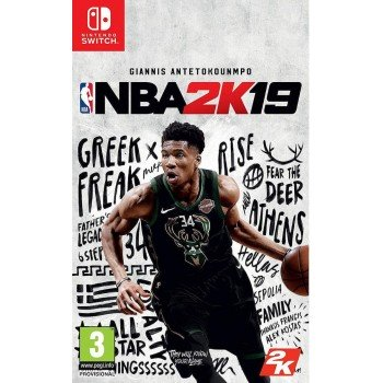 2K Games NSW NBA 2K19 STANDARD EDITION (GREEK)  5026555067201