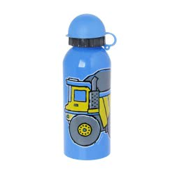 eco life Decor Pumped Stainless Steel Bottle 450ml Boys - Girls - 2 Colours 33-DE-001 9300621014983