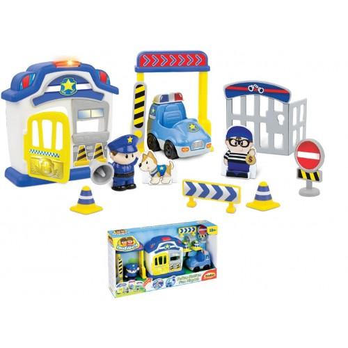 MG TOYS WinFun Αστυνομικό Τμήμα Police Station Σετ Παιχνιδιού 424008 5204275240085