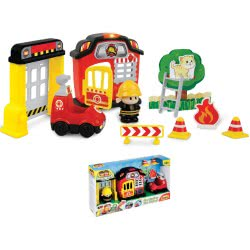 MG TOYS Winfun Fire Station Playset 424009 5204275240092