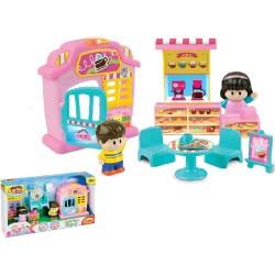 MG TOYS Winfun Cafeteria Cafe Fun Playset 424011 5204275240115