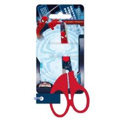 Group Operation Spiderman School Scissor Red - Blue AS7117 8422535828188