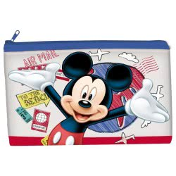 Group Operation Mickey Mouse Selfie Transparent Pencil Case 24X15cm AST4326 8422535931987