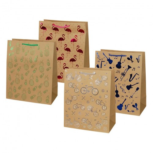 Group Operation Paper Gift Bag Medium Size - 8 Designs TK-30 5906190103987