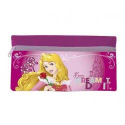 Group Operation Disney Princess Pencil Case Wallet With Zipper Pink AST1215 8422535871337