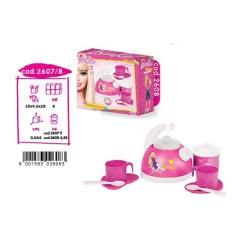 FARO Barbie Σετ Πρωινού Και Βραστήρας 2608 8001583026083
