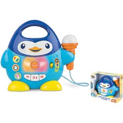 MG TOYS Winfun Μουσικό Πιγκουινάκι Με Μικρόφωνο Penguin Music Player 403205 5204275032055