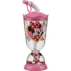 Gialamas Minnie Mouse Cafe Ποτήρι Με Χιονόμπαλα Ροζ 59799 63562597999