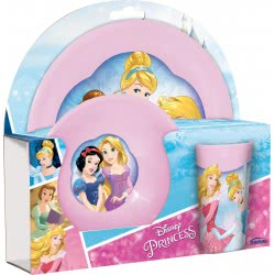 Gialamas Disney Princess Παιδικό Σετ Φαγητού - 3 Τεμάχια . 63562630948