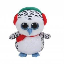 ty Beanie Boos Χνουδωτό Κουκουβάγια Χριστούγεννα 15εκ. 1607-36221 008421362219