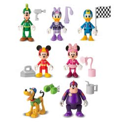 As company Mickey and Friends Roadster Racers Single Figure - 7 Design 1003-82462 8421134182462