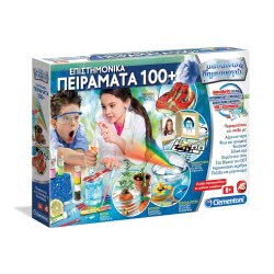 Clementoni Learn And Create - Science Experiments 100+ 1026-63870 8005125638703