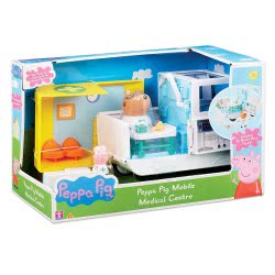 GIOCHI PREZIOSI Peppa Pig Mobile Medical Center With 2 Figures PPC28000 8056379058229