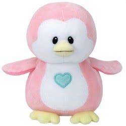 ty Beanie Boos Βρεφικό Χνουδωτό Πιγκουϊνος Ροζ 15Εκ. 1607-32156 008421321568