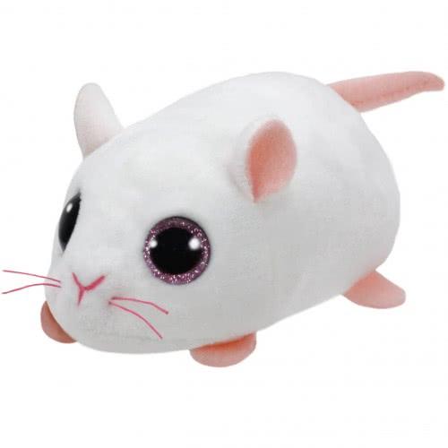 ty Beanie Boos Μικρό Χνουδωτό Ποντίκι Άσπρο 4,5εκ. 1607-42216 008421422166