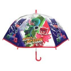 chanos PJ Masks Ready For Action Kids Umbrella 70 Cm 4844 5203199048449