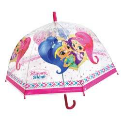 chanos Shimmer and Shine Ομπρέλα Παιδική Διάφανη 96 εκ. 4684 5203199046841