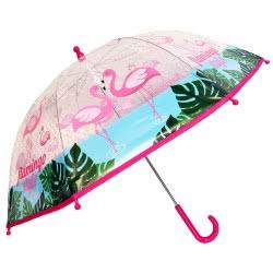 chanos Flamingo Ομπρέλα Παιδική 90 εκ, Ροζ 9418 5203199094187