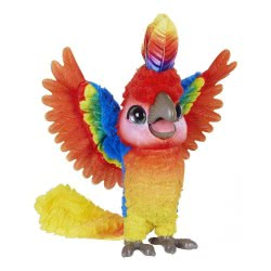 Hasbro Furreal Παπαγάλος Μπλαμπλάς Χορευταράς Rock-A-Too, The Show Bird E0388 5010993506255