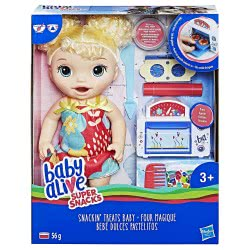 Hasbro Baby Alive Super Snack Snackin Treats Baby E1947 5010993505050