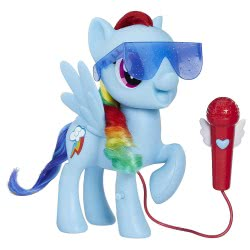 Hasbro My Little Pony Singing Rainbow Dash E1975 5010993546992