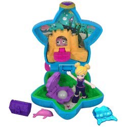 Mattel Polly Pocket Ο Κόσμος Της Polly Mini Σετάκια - Ενυδρείο GCD62 / FRY33 887961638141