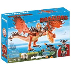 Playmobil Dragons Snotlout and Hookfang 9459 4008789094599