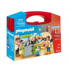 Playmobil Family Kitchen Carry Case 9543 4008789095435