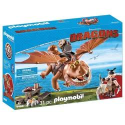 Playmobil Dragons Ο Λέπιας με τον Χοντροκέφαλο 9460 4008789094605