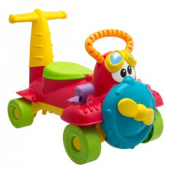 Chicco Αεροπλανάκι Charlie Ride-On Και Περπατούρα 2 Σε 1 Z01-05235-00 8003670826972