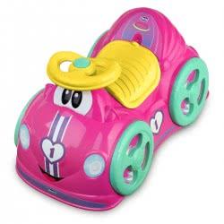 Chicco Αυτοκινητάκι Γύρω Γύρω Όλοι All Around Girl, Ροζ Z01-07347-01 8058664074341