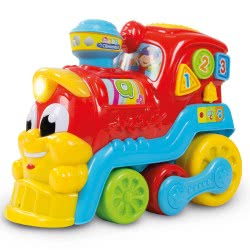 Clementoni baby Baby Toy Train Tsaf Tsuf 123 (Speaks Greek) 1000-63513 8005125635139