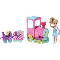 Mattel Barbie Club Chelsea: Τσέλσι Και Choo-Choo Τρενάκι FRL86 887961628197