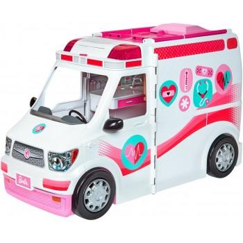 Mattel Barbie Κινητό Ιατρείο - Ασθενοφόρο FRM19 887961628739