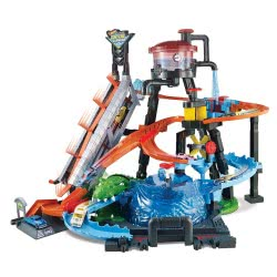 Mattel Hot Wheels City Gator Car Wash Playset FTB67 887961639919
