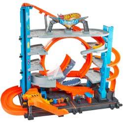 Mattel Hot Wheels Ultimate City Garage with Shark FTB69 887961639902