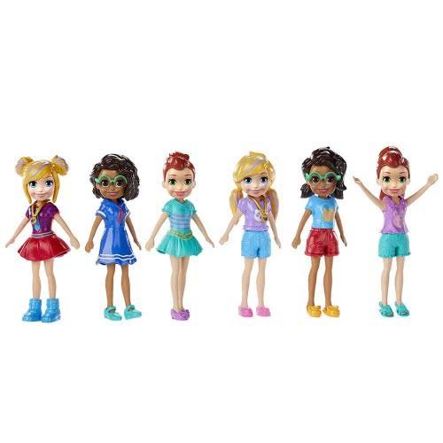 Mattel Polly Κούκλα Με Αξεσουάρ - 6 Σχέδια GCD63 / GFT90 887961686135