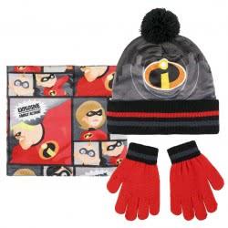 Cerda The Incredibles: Οι Απίθανοι Σετ Κασκόλ - Σκούφος - Γάντια 2200003207 8427934199853