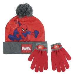 Cerda Marvel Spiderman - Winter Scarf, Gloves 2200003220 8427934199983